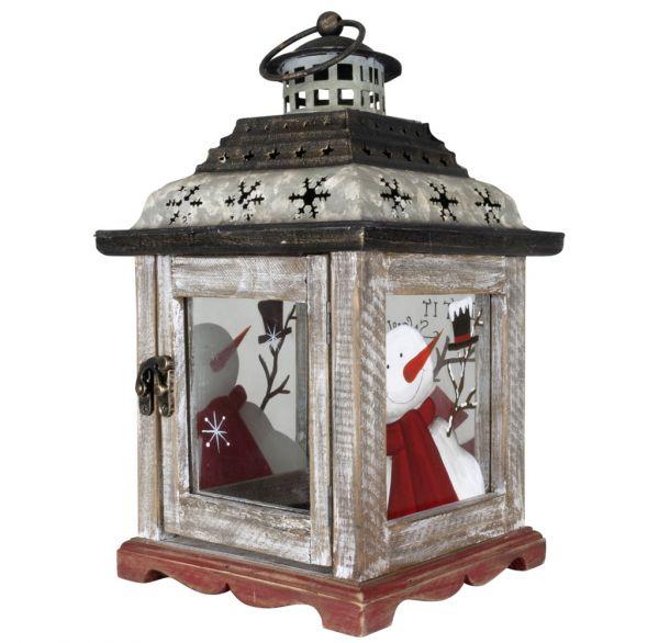 Laterne für Kerzen & Teelichter 29cm