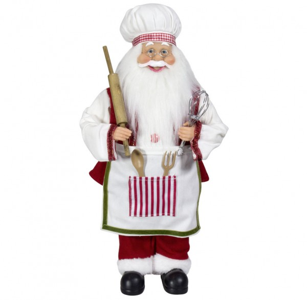 Weihnachtsmann 60cm Bäcker