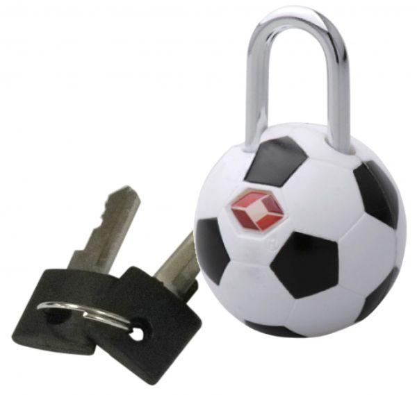 TSA-Kofferschloss Fußball Doppelpack