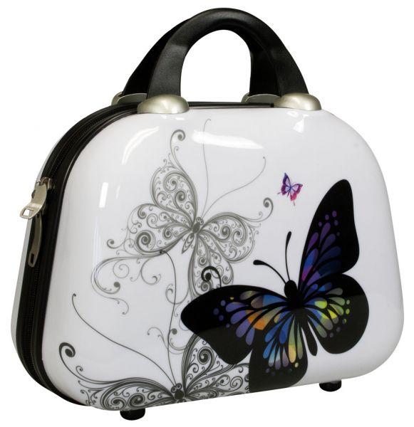 Polycarbonat Beautycase Schmetterling