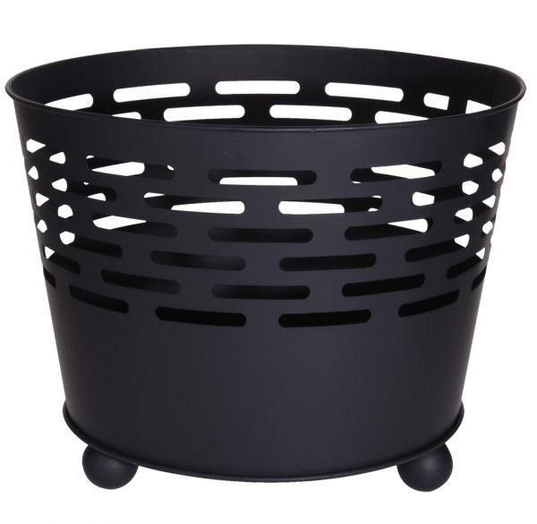 Feuerkorb schwarz 45cm
