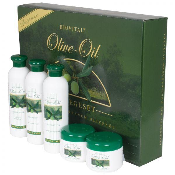 Bio-Vital Olivenöl Pflegeset 5tlg