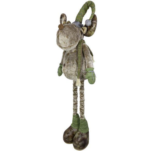 Elch mit ausziehbaren Beinen 80-110cm