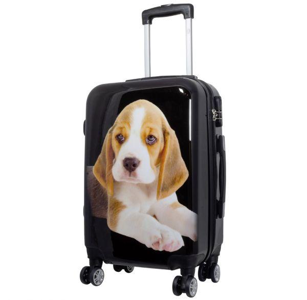 Polycarbonat-Koffer Beagle Größe S