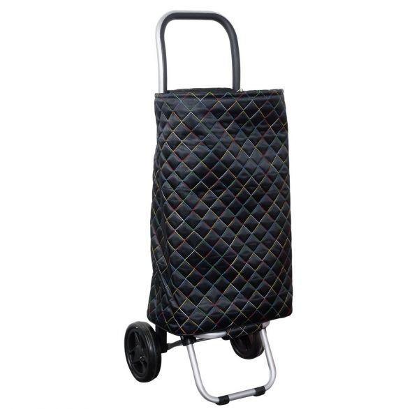 Einkaufstrolley Tunis Handwagen Einkaufswagen mit abnehmbarer Tasche ...