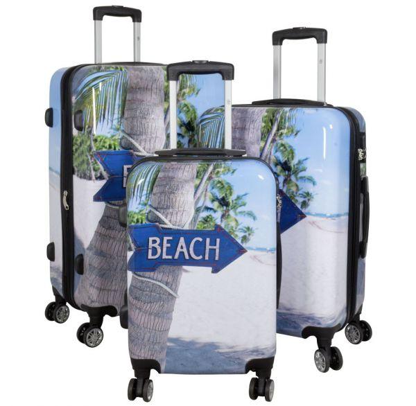 Polycarbonat-Koffer und Kofferset Beach