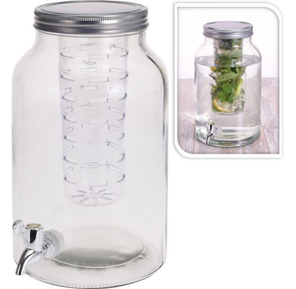 Getränkespender 4 Liter Zapfhahn Einsatz