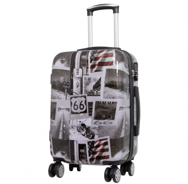 Polycarbonat-Koffer Amerika Größe S
