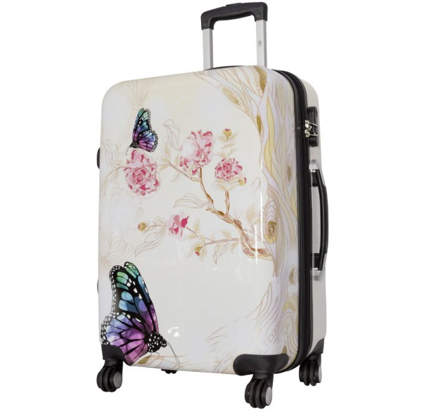 Polycarbonat-Koffer und Kofferset Butterfly II