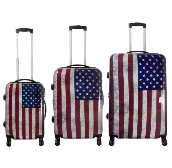Polycarbonat-Koffer und Kofferset USA