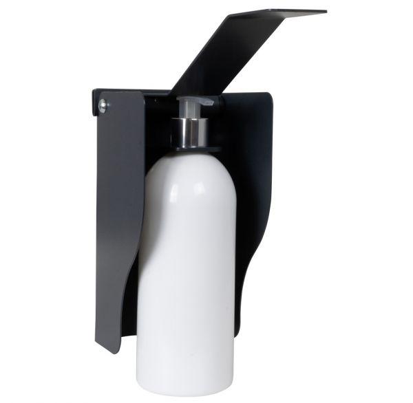 Desinfektionsmittelspender inklusive Pumpflasche Wandmontage