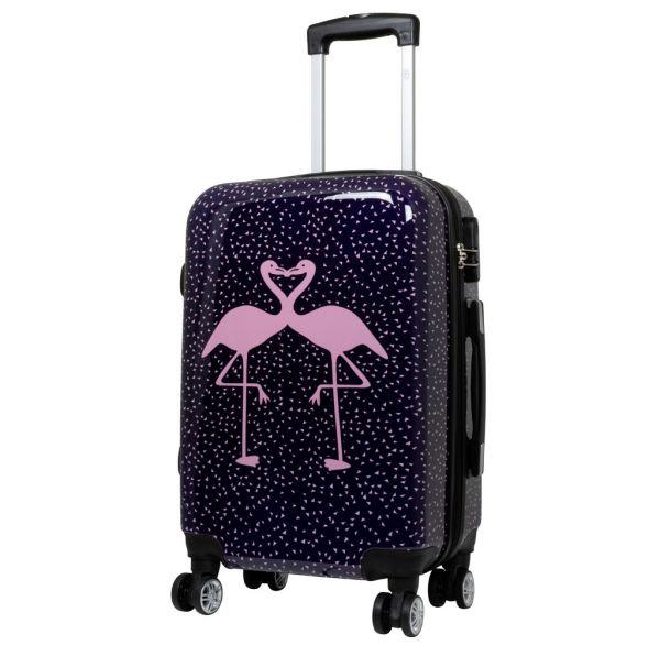 Polycarbonat Koffer & Kofferset Flamingo 3tlg